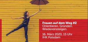 Frauen auf dem Weg - Veranstaltung in Potsdam