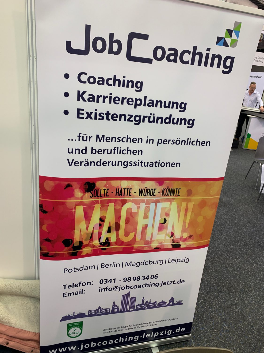 JOBregional am 28. Februar 2020 im GLOBANA Messe & Conference Center in Schkeuditz