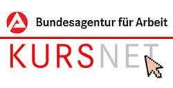 Logo des KURSNET der Arbeitsagentur