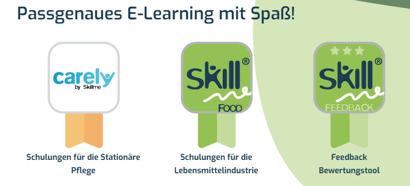SkillMe bedeutet passgenaues E-Learning mit Spaß
