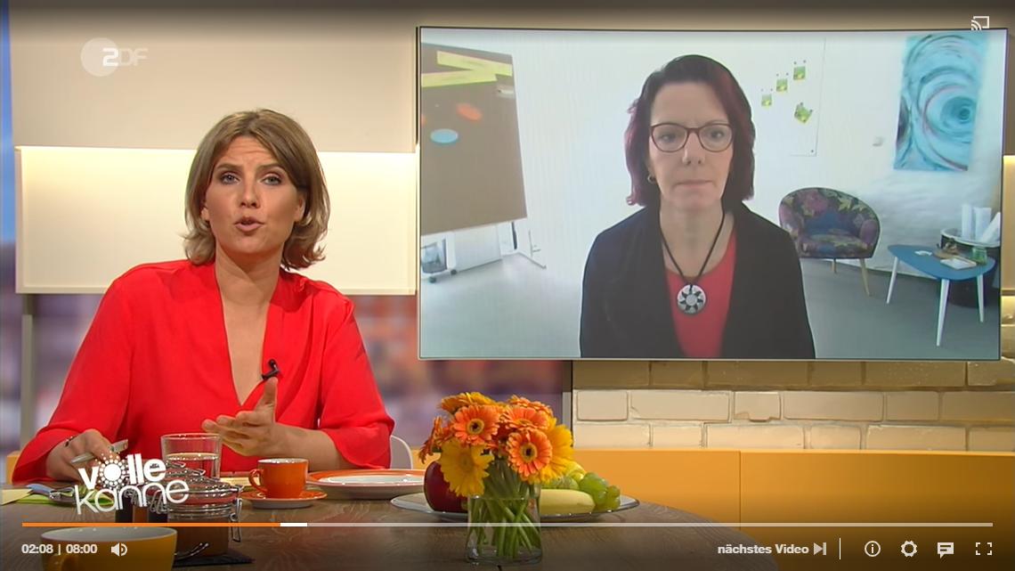 """ZDF Interview zum Thema """"Mehr Arbeitslosigkeit fordert Umdenken"""""""
